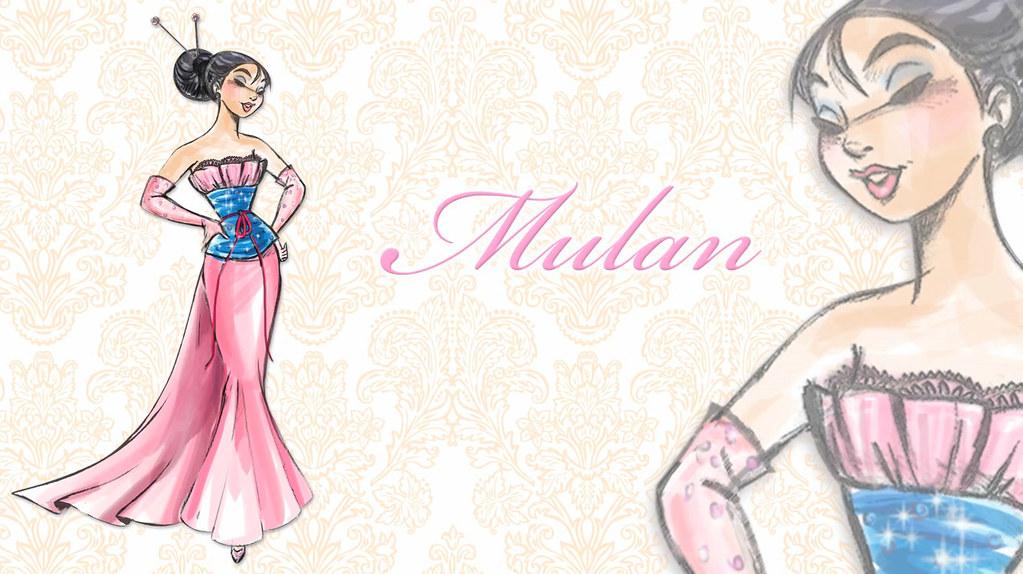 Video Mulan Concept Art Found On The Disney Store Online Flickr
