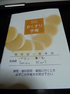 My japanese medicine booklet | by kalleboo