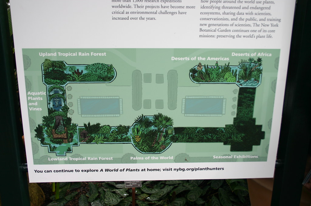 ... Enid A. Haupt Conservatory Map | By Ryan Somma