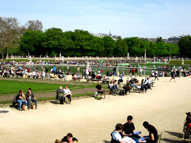 Luxembourg gardens paris flickr photo sharing - Station metro jardin du luxembourg ...