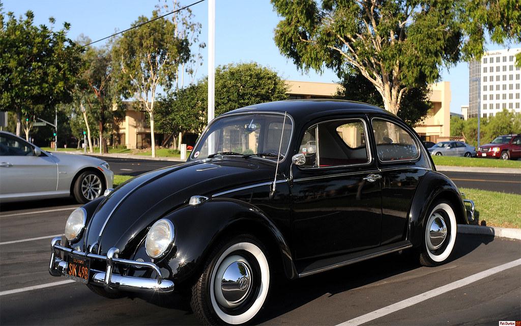 1966 Volkswagen 1300 Bug Black Front Enderle Center