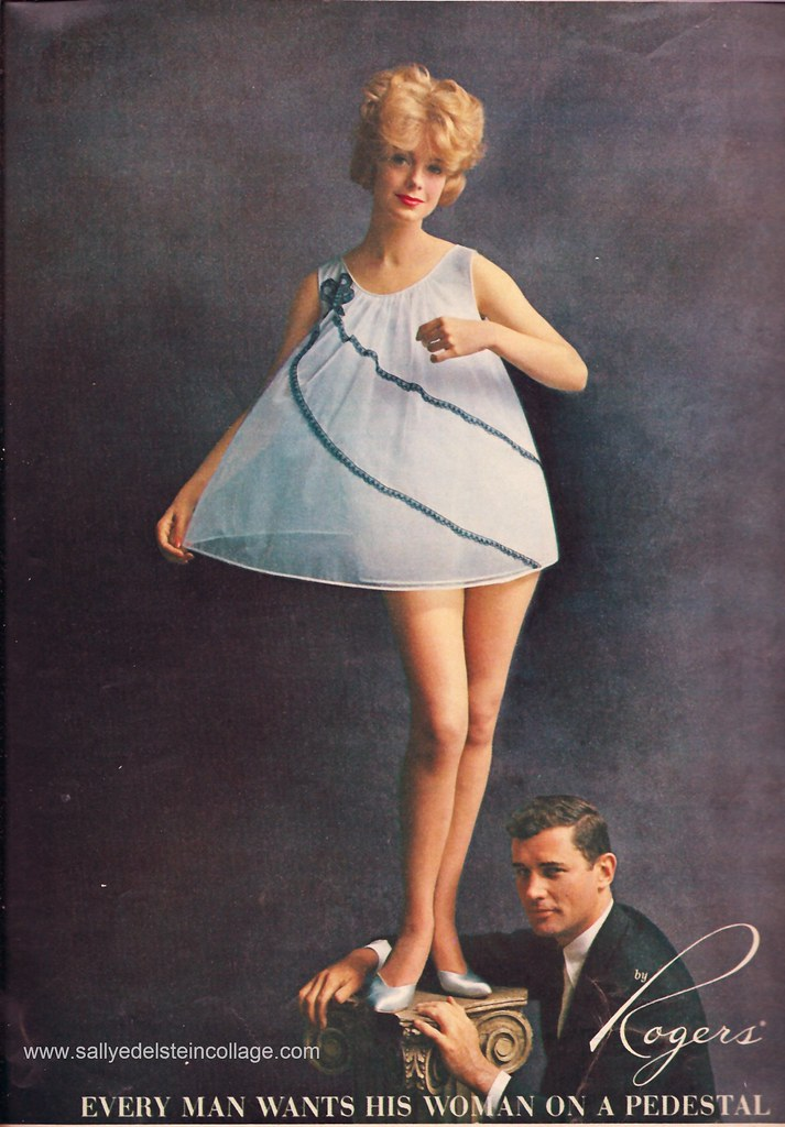 1961 Ad Rogers Lingerie Baby Doll Blog Website Rogers