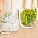 Cucumber yogurt salad and Edamame salad