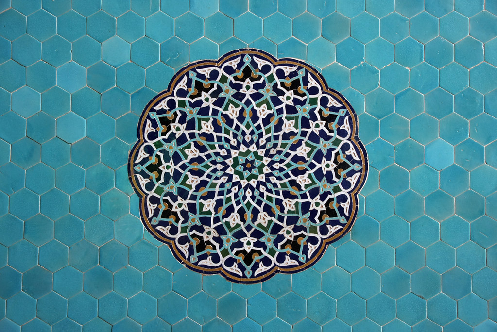 Jameh Mosque Of Yazd Iran مسجد جامع یزد The Jāmeh