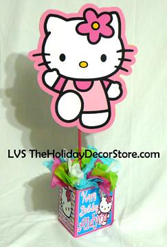 Polka Dots Hello Kitty Birthday Party Decorations Supplies Flickr