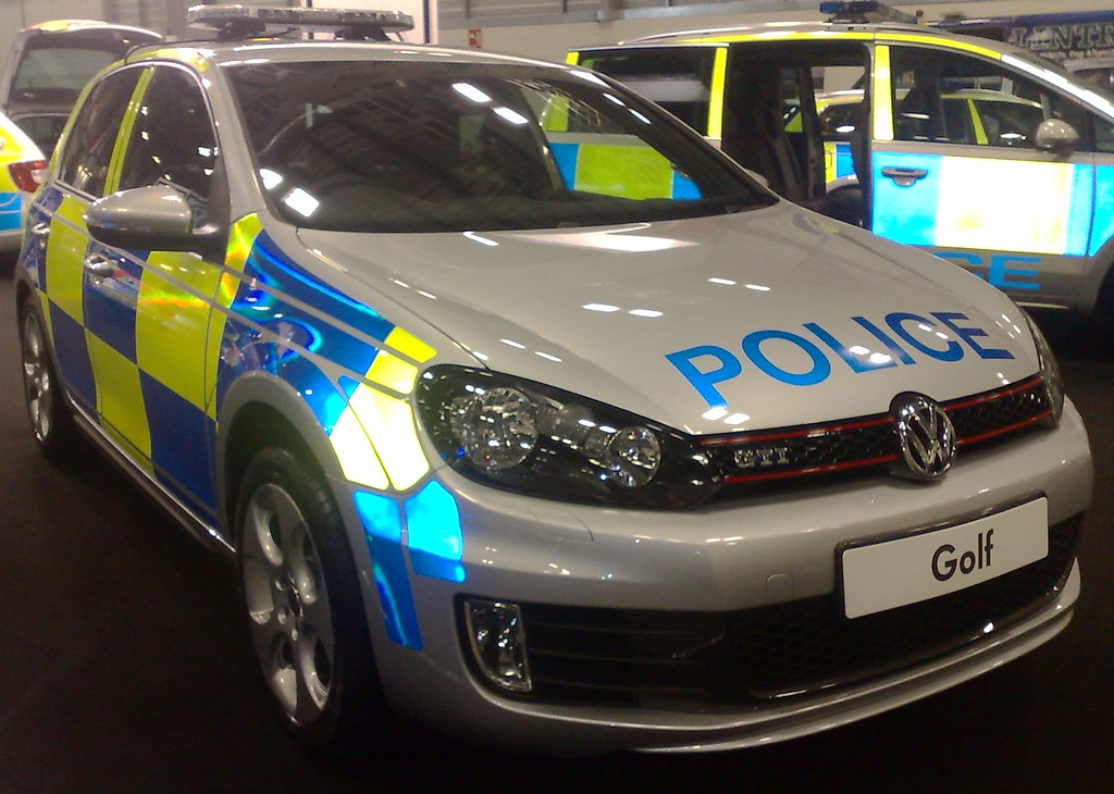 Vw Golf Gti Police Car Brian Flickr