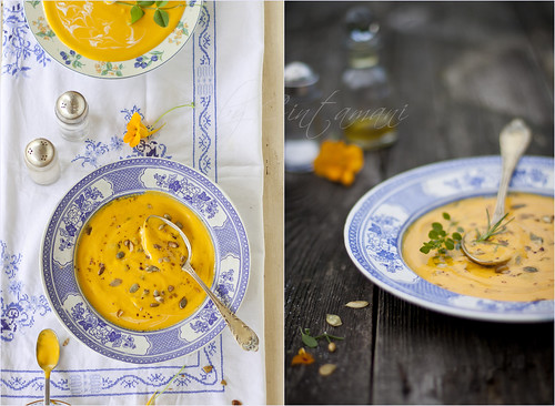 Pumpkin Soup. | by Cintamani, GreenMorning.pl