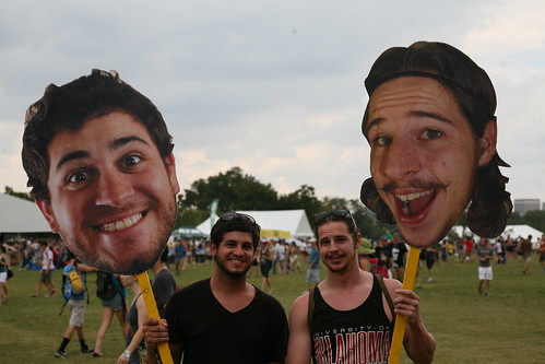 Clever, guys. At Austin City Limits 2011 | by OKmattcarney
