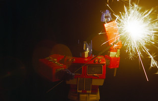 Day 192/365 - Prime gets his Sparkler on | by Great Beyond