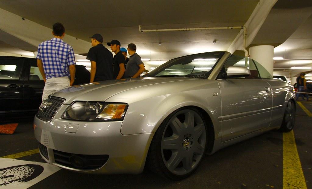 Night Of Wheels 2011 Audi A4 Cabrio Maybach Wheels Fel