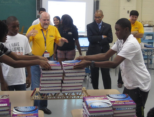 Chancellor walcott visits city polytechnic high school of for City polytechnic high school of engineering architecture and technology