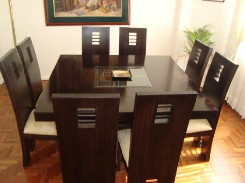 Comedor comedores 8 sillas cuadrados decoraci n de for Comedor 8 puestos bogota