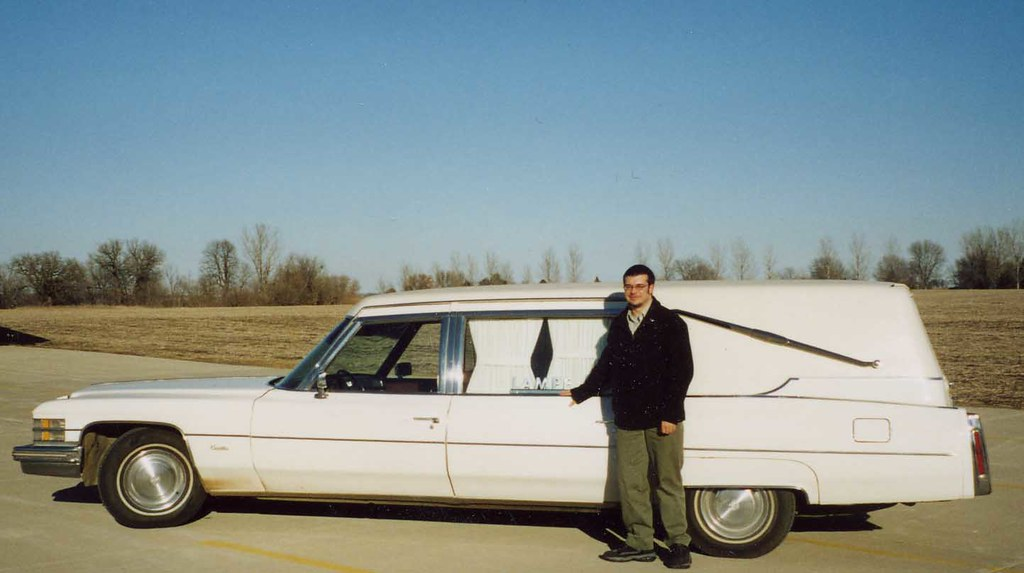 Awesome ... 1974 Cadillac Superior Hearse, Lampe Funeral Home   Lake City, Iowa |  By Mitch