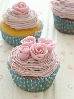 Rose Cupcake | by sweet berry me