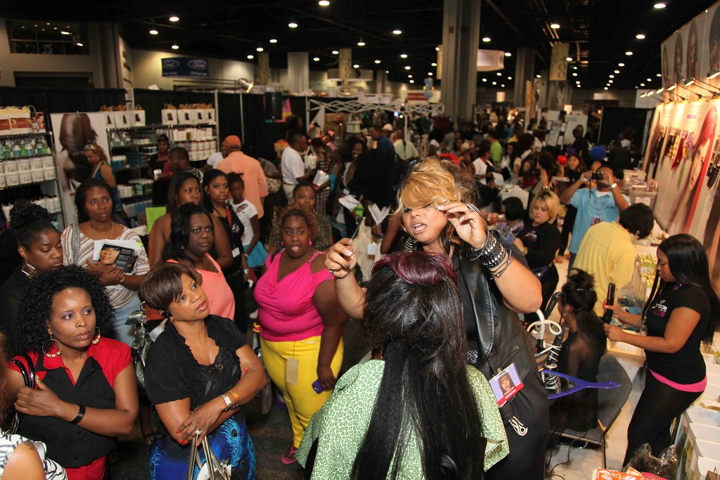 Bronner Bros Hair Show At The Ultima Hair Prota Booth Ex Flickr