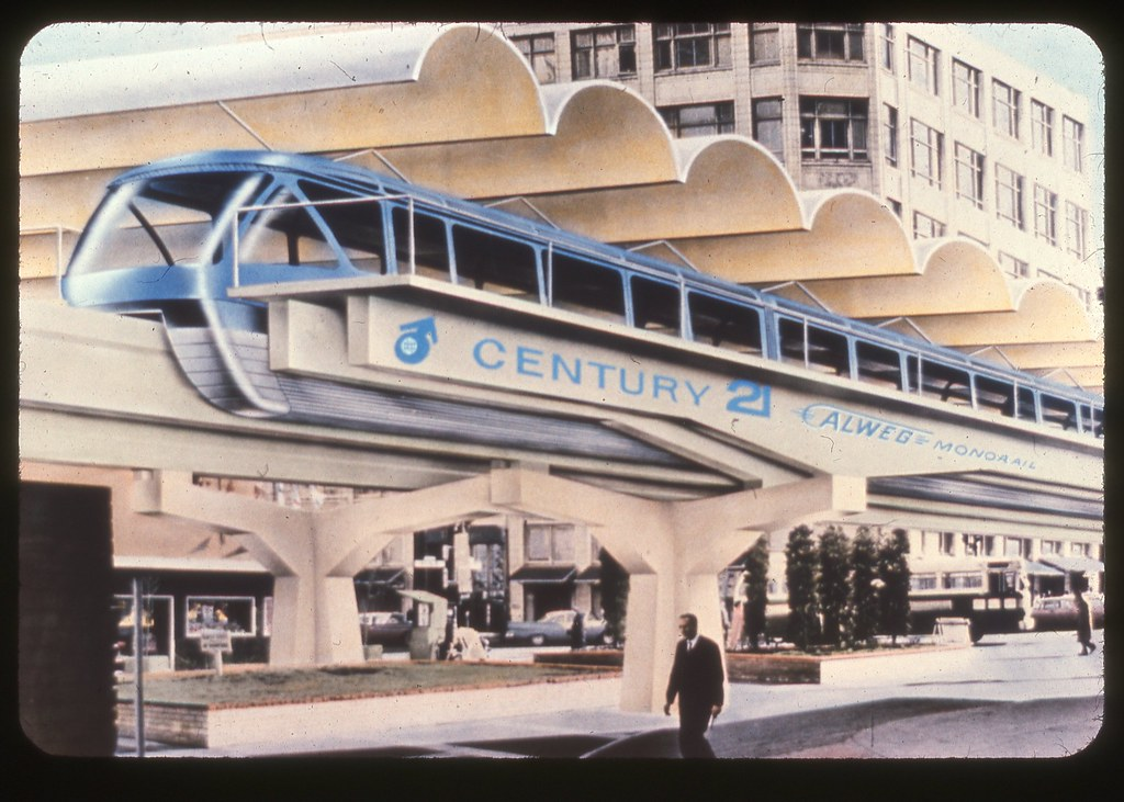 Seattle Monorail Drawing Seattle Monorail Concept