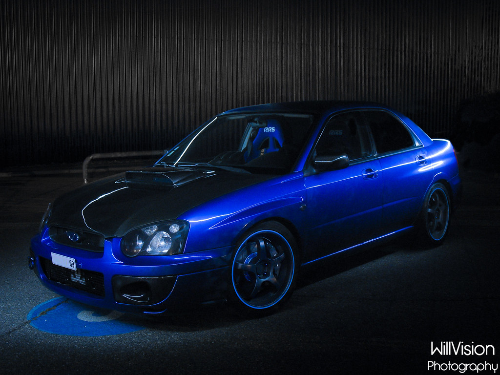 400 Subaru Impreza Wrti Light Painting Full Set Here