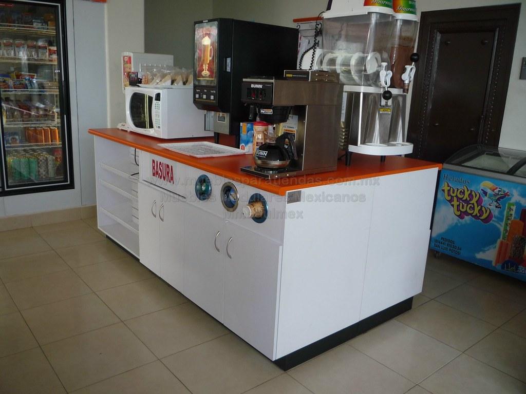 Fastfood Anaranjado Isla 2 Muebles De Tiendas Muebles Flickr # Muebles Para Fast Food