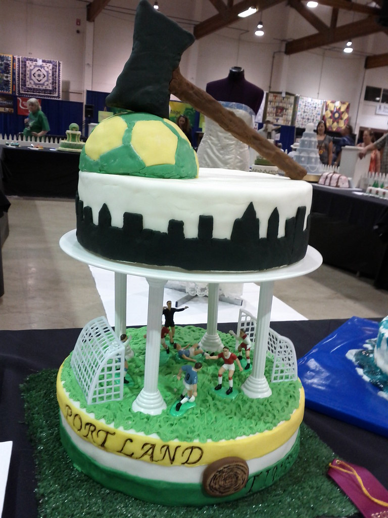 Cake Decorating Contest Portland Timbers Oregon State Fa Flickr
