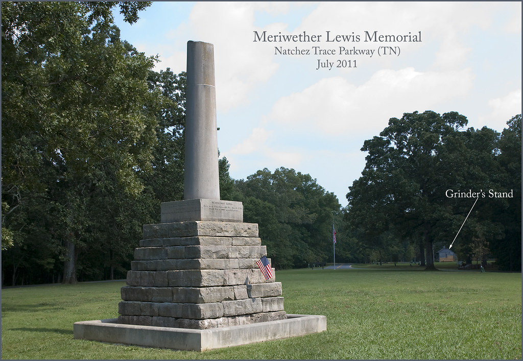 Image result for Meriwether Lewis died in Tennessee