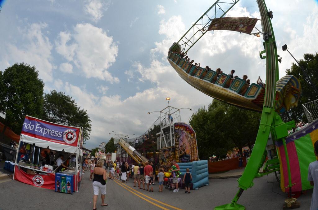 Pharaoh Fury Carnival Ride Naperville