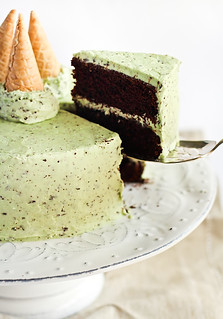 Mint Chocolate Chip Cake | by raspberri cupcakes