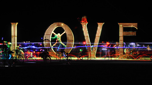Burning Man 2011 - LOVE | by extramatic