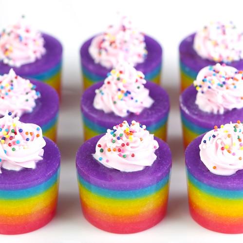 Rainbow Cake Jelly Shot | Jelly Shot Test Kitchen | Flickr