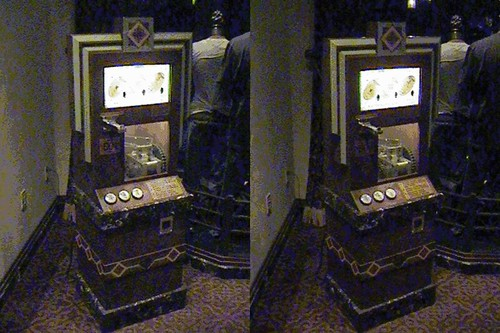 3D, Penny Press, Hollywood Tower Hotel Gift Shop, Disney California Adventure, animated | by Dr. Disney Wizard