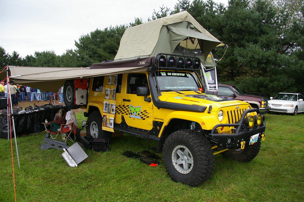 Jeep Tj Overland >> Jeep Wrangler JKL Overland Camper | Jeff Daniel's Jeep Show … | Flickr