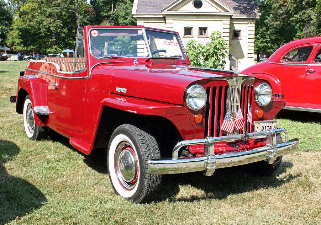 D Exhibition Model : Willys overland jeepster phaeton of
