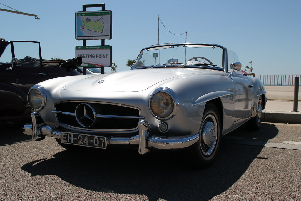 mercedes benz 190 sl roadster this photo was taken at the flickr. Black Bedroom Furniture Sets. Home Design Ideas