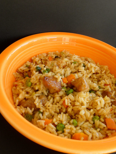 how to cook pork fried rice