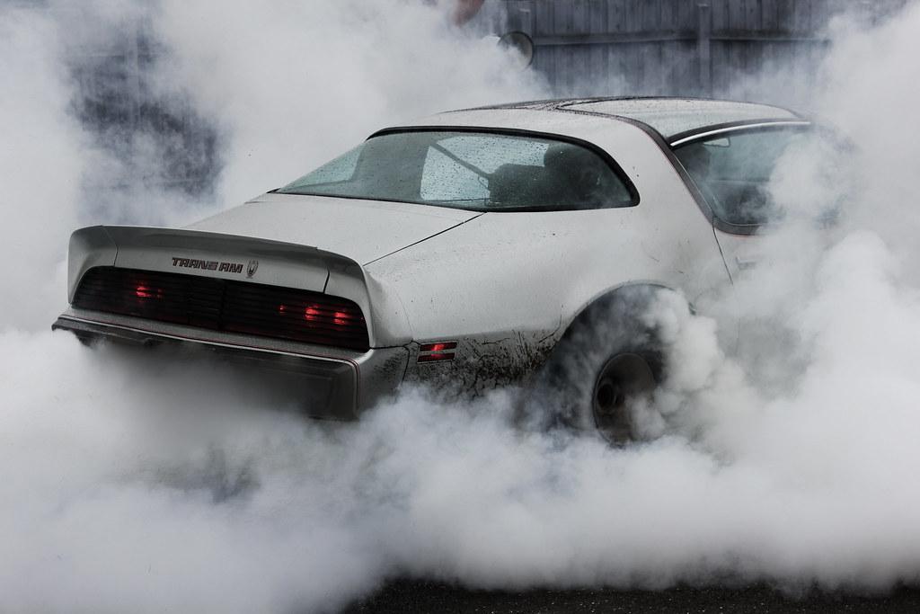 Trans Am Burnout Pontiac Firebird Trans Am Doing A
