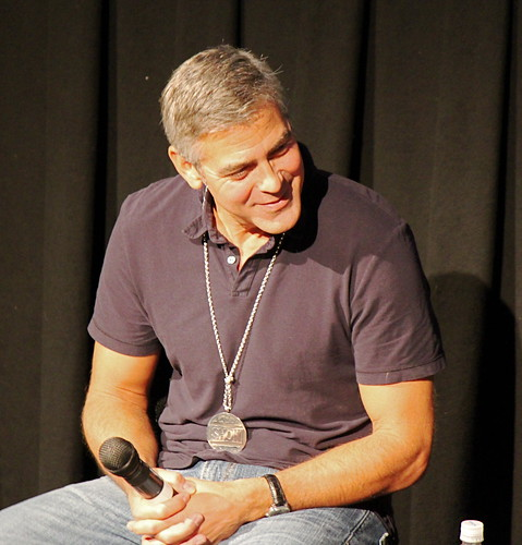 George Clooney smirk | The actor who stars in Alexander ...