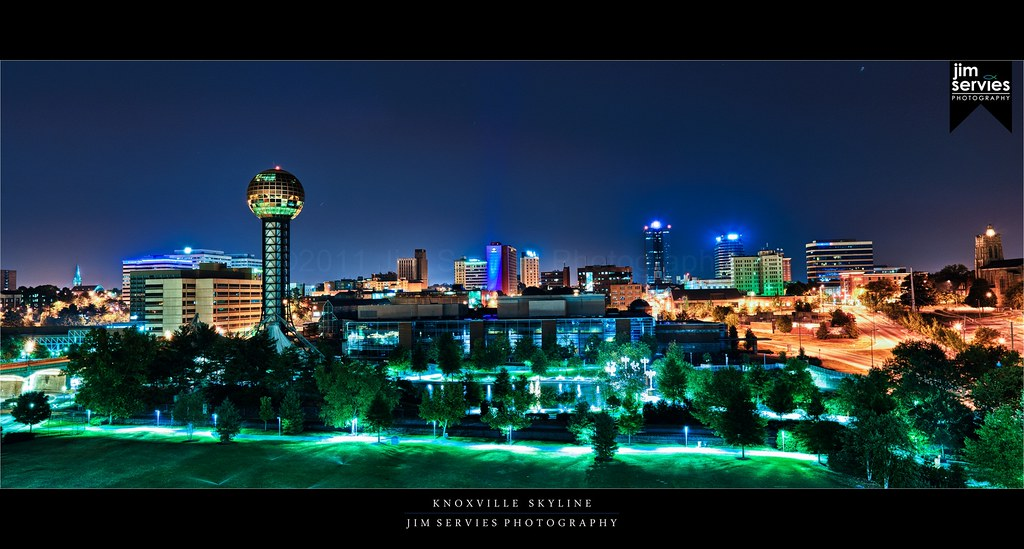 Zeiss Vr One >> Knoxville Skyline | Skyline of Knoxville, TN taken over the … | Flickr