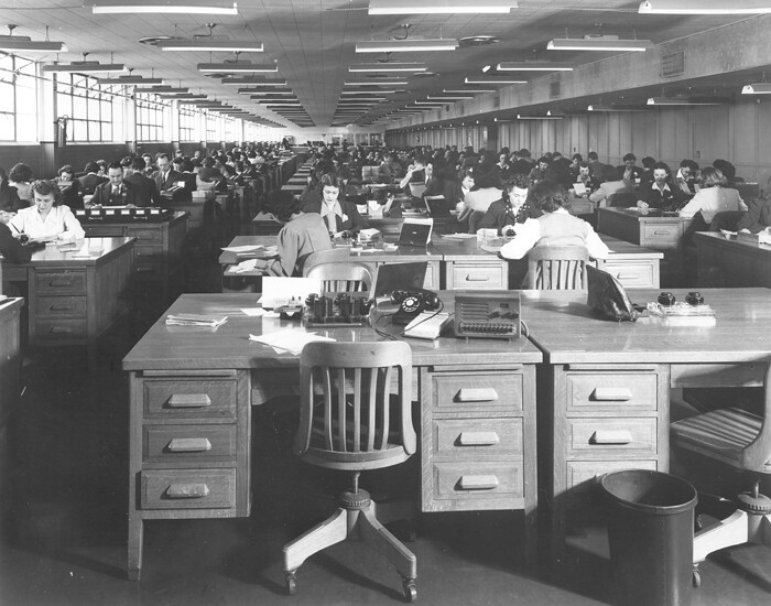 Payroll Department Ford Motor Co Willow Run Bomber Plant Flickr