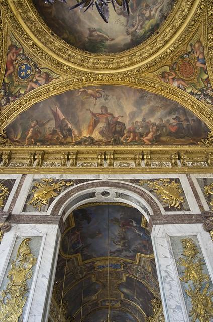 Versailles plafond du salon de la paix flickr photo - Salon du vin versailles ...