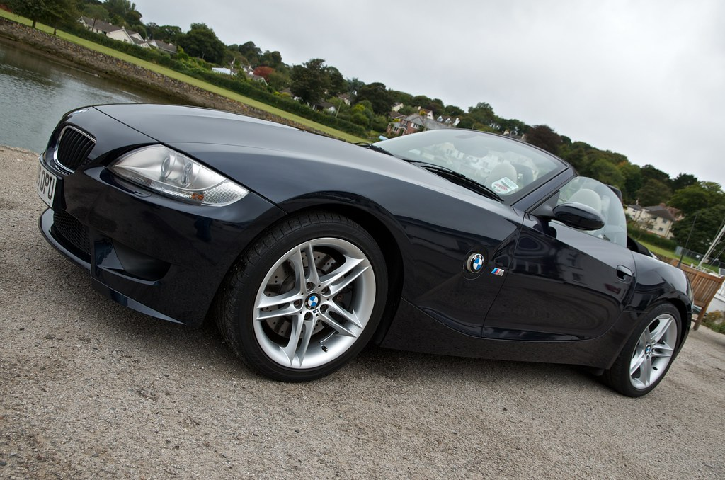 Bmw Z4 M Roadster In Monaco Blue Daniel Yeates Flickr