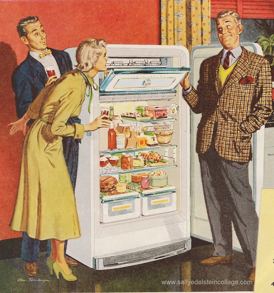 Ad Frigidaire Refrigerator 1950