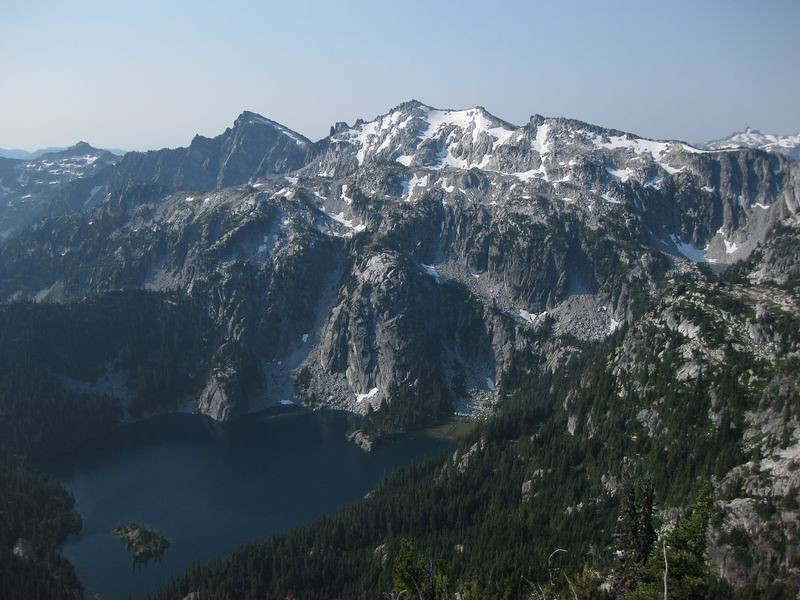 Klonoqua Below Granite Mtn Alpine Lakes Wilderness Wa By John E Morrow