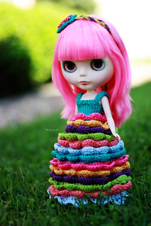 Colorful Girl ~ SG Custom | by Renata S.P.