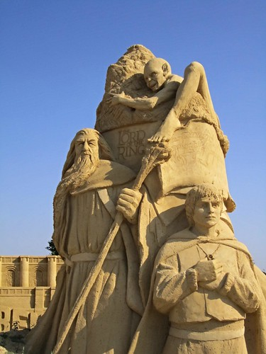 Lord of the Rings, Movie-themed sand sculptures, Burgas, Bulgaria 2011 | by ali eminov