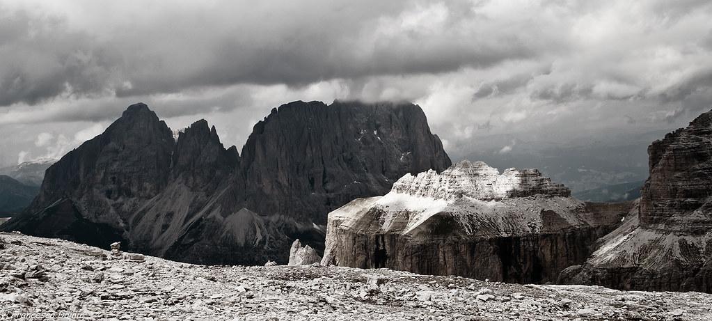 La terrazza sulle Dolomiti | Dall\'altopiano del Sass Pordoi … | Flickr