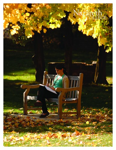 Bench | by Nazareth College Admissions