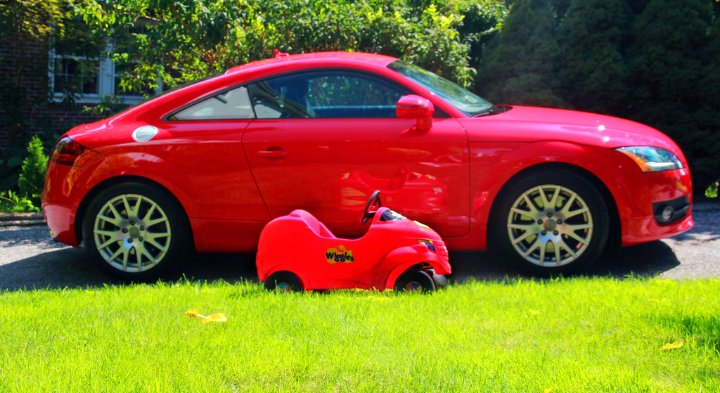 Big Red Car Little Big Red Car  The little quot;Big Red Carquot; is