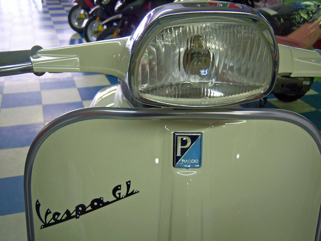1964 Vespa Gl Done 12 Green Tree Scooters Flickr