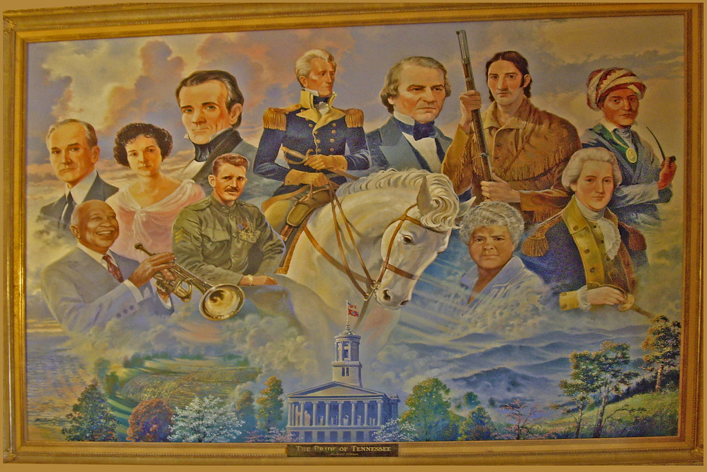 The Pride Of Tennessee Tennessee State Capitol Buildi