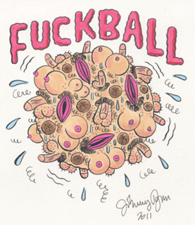 fuckball | by Johnny Ryan