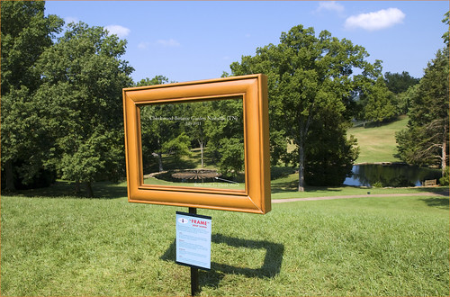 """Frame"" Your Scene -- Cheekwood Botanical Garden Nashville (TN) July 2011 
